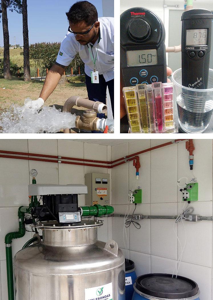 Monitoramento de Águas de Poços Artesianos